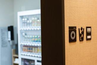 自动售货机(饮料)、微波炉、制冰机