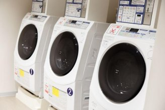 3층 자동 세탁기・건조기