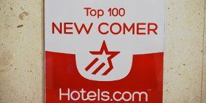 Hotels.com様よりアワードを受賞いたしました。