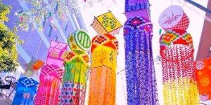 仙台七夕まつり前夜祭『日本一の七夕』と第48回仙台七夕花火祭 8月5日、同時に愉しめます!