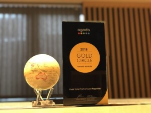 Agoda 2019 Gold Circle Awardを受賞しました!