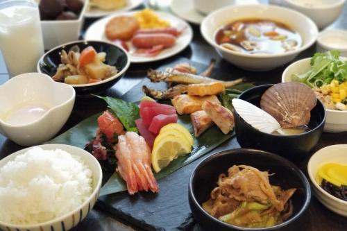 「和およばれ」朝食