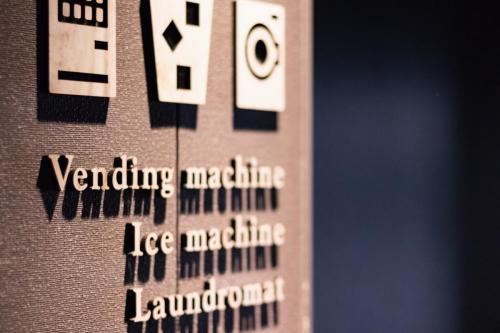 自動販売機コーナー(4F)