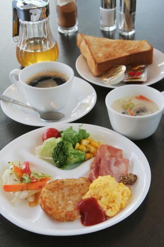 朝食例:洋食(1Fビスタかカフェ)