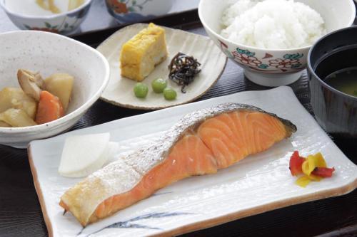 朝食例:和食(1F ビスタカフェ)