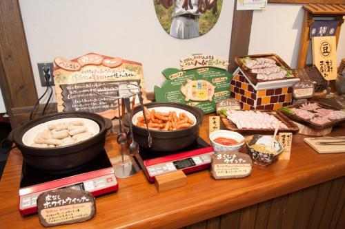 『元気になる農場レストラン モクモク』朝食ブッフェ(ミート類)