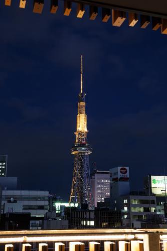 名古屋テレビ塔(廊下より)